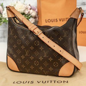 LOUIS VUITTON Boulogne Shoulder Bag VINTAGE